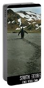 Penguin Travel Poster Portable Battery Charger