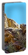 Peninsular Bighorn Sheep From Borrego Palm Canyon Trail In Anza-borrego Desert Sp-ca Portable Battery Charger