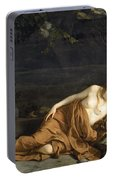Penitent Mary Magdalene Portable Battery Charger