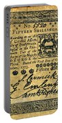 Penn. Banknote, 1773 Portable Battery Charger