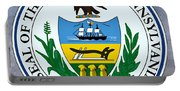 Pennsylvania State Seal Portable Battery Charger