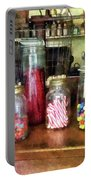 Penny Candies Portable Battery Charger by Susan Savad