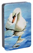 Pensive Swan Portable Battery Charger