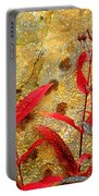Penstemon Abstract 4 Portable Battery Charger