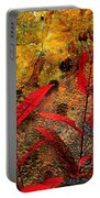 Penstemon Abstract 5 Portable Battery Charger