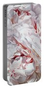 Peonies Petals 55 X 38cm Portable Battery Charger