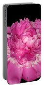 Peony At Night Portable Battery Charger
