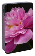 Peony Blossoms Portable Battery Charger