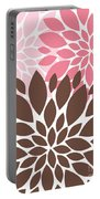 Peony Flowers 007 Portable Battery Charger