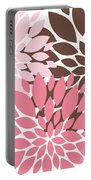 Peony Flowers 009 Portable Battery Charger