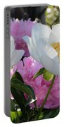 Peony Garden Portable Battery Charger