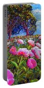 Peony Heaven Portable Battery Charger