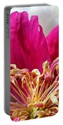 Peony Painterly Portable Battery Charger