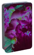 Peony Passion Portable Battery Charger