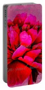 Peony Perfection Portable Battery Charger