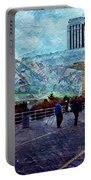 People As A Painting Portable Battery Charger