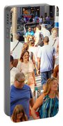 People In New York Portable Battery Charger