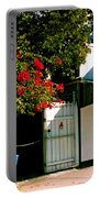 Pepes In Key West Florida Portable Battery Charger by Susanne Van Hulst