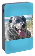 Pepper At The Beach Portable Battery Charger