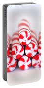 Peppermint Twist - Candy Canes Portable Battery Charger