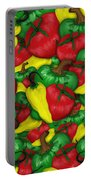 Peppers And Tomatos Portable Battery Charger