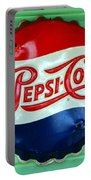 Pepsi Cap Portable Battery Charger by David Lee Thompson