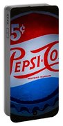 Pepsi Cap Sign Portable Battery Charger