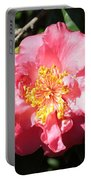 Perfect Pink Camellia Portable Battery Charger