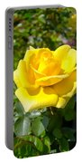 Perfect Yellow Rose Portable Battery Charger