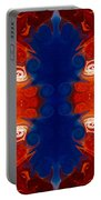 Perfectly Balanced Philosophies Abstract Pattern Art By Omaste Witkowski Portable Battery Charger