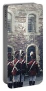 Period Soldiers Portable Battery Charger by Joana Kruse