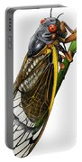 Periodical Cicada Portable Battery Charger