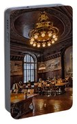 Periodicals Room New York Public Library Portable Battery Charger