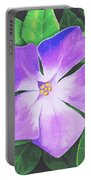 Periwinkle Portable Battery Charger