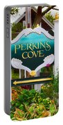 Perkins Cove Sign Portable Battery Charger