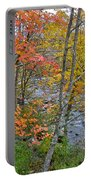 Perkiomen Creek - Perkiomenville Pa - Autumn Foliage Portable Battery Charger