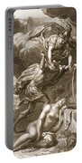 Perseus Cuts Off Medusas Head, 1731 Portable Battery Charger