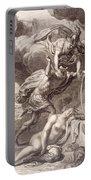 Perseus Cuts Off Medusa's Head Portable Battery Charger by Bernard Picart