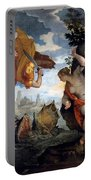 Perseus Rescuing Andromeda Portable Battery Charger