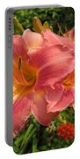 Persian Market Daylily Portable Battery Charger