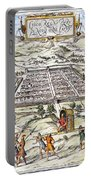 Peru: Cuzco, 1572 Portable Battery Charger
