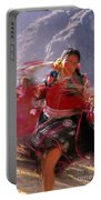 Peruvian Festival Sacred Valley Portable Battery Charger