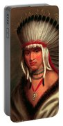 Petalesharro. Generous Chief  Pawnee Portable Battery Charger