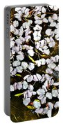 Petals In The Pond Portable Battery Charger
