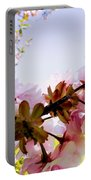 Petals In The Wind Portable Battery Charger