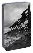 Peter Iredale Shipwreck Oregon 1 Portable Battery Charger