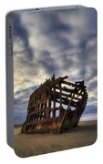 Peter Iredale Shipwreck Sunrise Portable Battery Charger