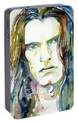 Peter Steele Portrait.4 Portable Battery Charger