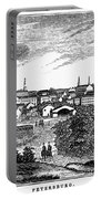 Petersburg, Virginia, 1856 Portable Battery Charger