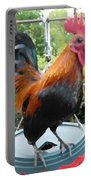 Petey The Old English Game Bantam Rooster Portable Battery Charger